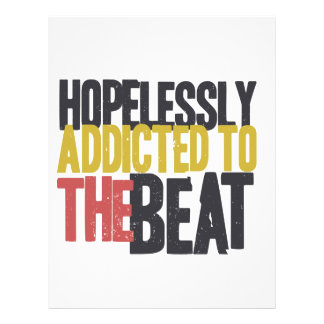Hopelessly Addicted to The Beat Letterhead