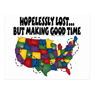 Hopelessly Lost... Postcards