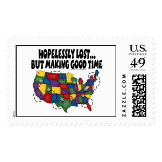 Hopelessly Lost... Stamps