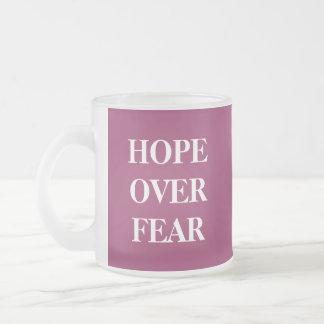 HOPEOVERFEAR, HOPEOVERFEAR TAZAS DE CAFÉ