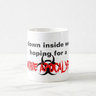 """""""Hopes for a Zombie Apocalypse"""" Mug"""
