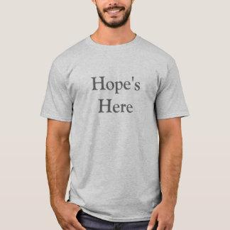 Hope's Here (back) Obama 2009 T-Shirt