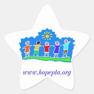 Hopewell Elementary PTA Star Sticker