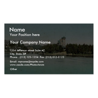 Hopewell Hall and Castle Rest, Thousand Islands ra Double-Sided Standard Business Cards (Pack Of 100)