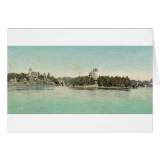 Hopewell Hall & Castle Rest Thousand Islands, NY Card
