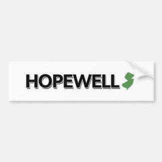 Hopewell, New Jersey Bumper Sticker