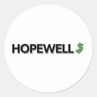 Hopewell, New Jersey Classic Round Sticker