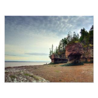 Hopewell oscila Nuevo Brunswick Canadá Fotografías