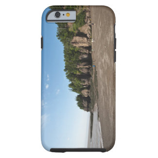 Hopewell Rocks and The Ocean Tidal Exploration Tough iPhone 6 Case