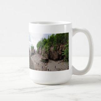 Hopewell Rocks Low Tide Canada Mug