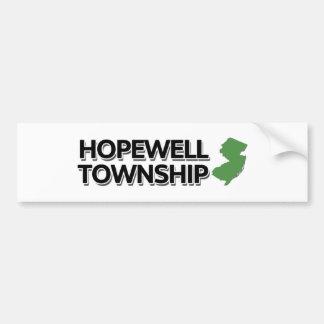 Hopewell Township, New Jersey Bumper Sticker