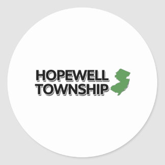 Hopewell Township, New Jersey Classic Round Sticker
