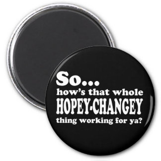 Hopey-Changey Thing Refrigerator Magnets