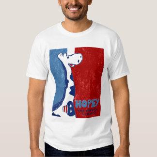Hopey la camiseta esperanzada de la jirafa polera