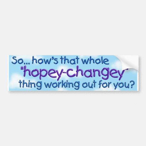 hopeychgy bumper sticker