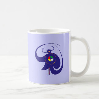 Hopi dios de cielo sky god taza de café
