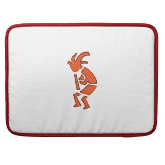 Hopi Flute Player - Southwest Indian Design Sleeve For MacBooks