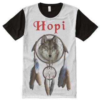 Hopi Indian All-Over-Print Shirt