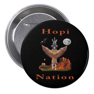 Hopi Indian art 3 Inch Round Button