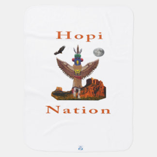 Hopi Indian Items Receiving Blanket