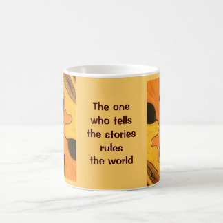 Hopi Indian proverb with art Coffee Mug