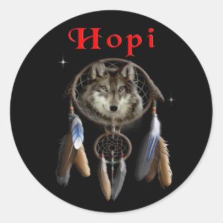 Hopi Indians Classic Round Sticker