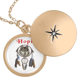Hopi Indians Locket Necklace