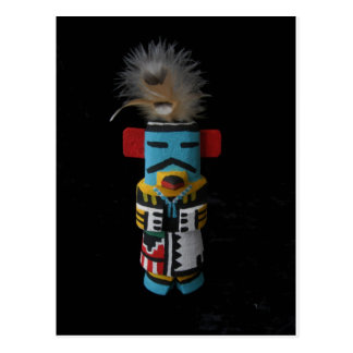 HOPI KACHINA EAGLE POSTCARD