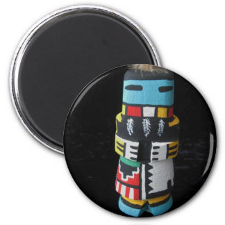 Hopi Kachina LONG HAIR Magnet