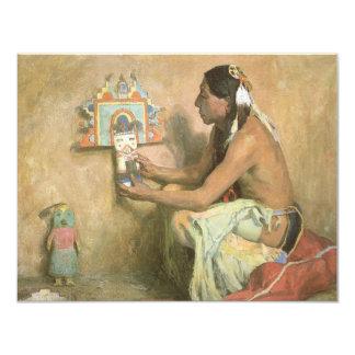 Hopi Katchina por Couse, nativo americano del Comunicado
