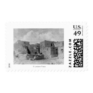 Hopi (Moqui) Indians Snake Kiva Oraibi Pueblo Stamps
