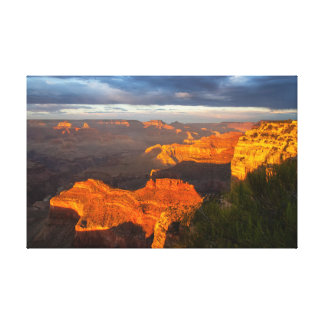 Hopi Point Sunset 1 Canvas Print