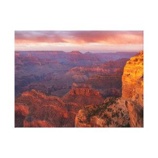 Hopi Point Sunset 2 Canvas Print