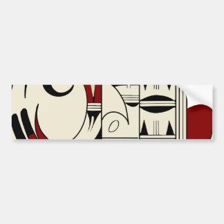 Hopi Pottery 01 Bumper Sticker