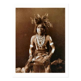 Hopi Snake Priest ca. 1900 Post Cards