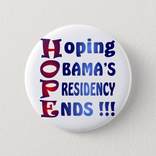 Hoping Pinback Button