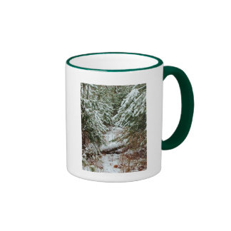 Hoping Your WinterIs Filled With Warmth     ... Ringer Mug