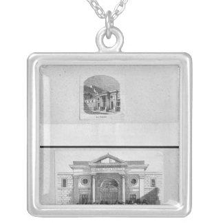 Hopital de la Charite Silver Plated Necklace