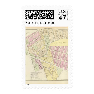 Hopkins Burial Ground town hall Atlas Map Stamp