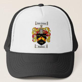 HOPKINS FAMILY CREST -  HOPKINS COAT OF ARMS TRUCKER HAT