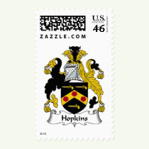 Hopkins Family Crest Stamps