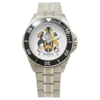 Hopkins Family Crest Wrist Watch