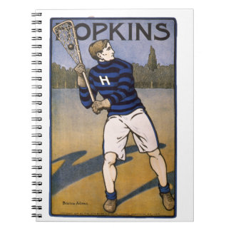 Hopkins Lacrosse 1902 - Bristow Adams Notebook