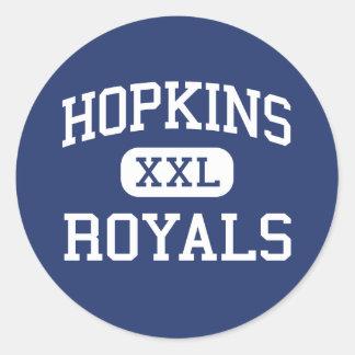 Hopkins - Royals - High School - Hopkins Minnesota Classic Round Sticker