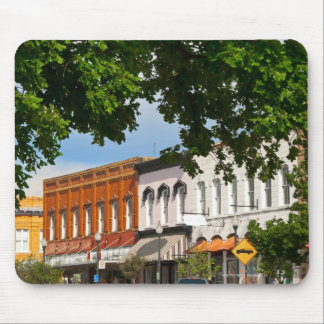 Hopkins Street facing courthouse square in Mouse Pad