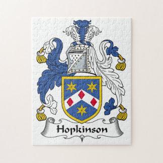 Hopkinson Family Crest Puzzles