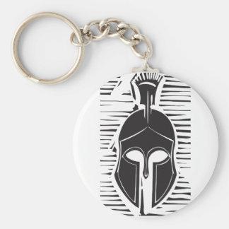 Hoplite Greek Helmet Keychain
