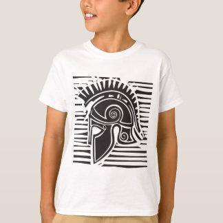Hoplite Greek Helmet T-Shirt