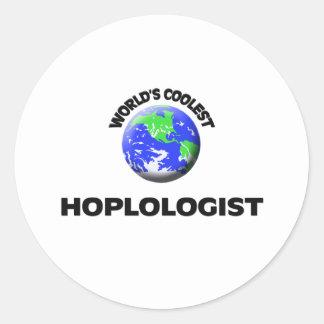 Hoplologist más fresco del mundo pegatinas