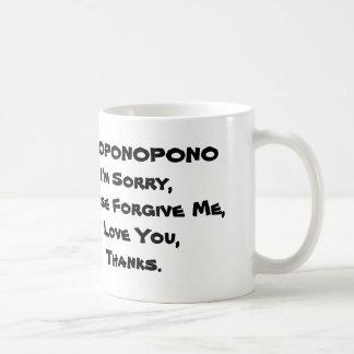 HOPONOPONO COLECTION MUGS ENGLISH LANGUAGE